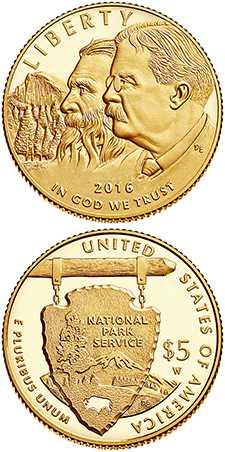 $5 Gold Coin