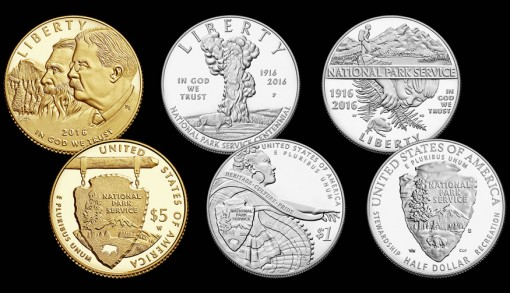 National Park Coins