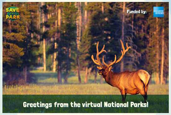 Postcard from a Virtual National Park
