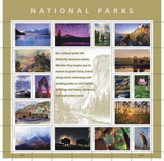National Park Centennial Stamps