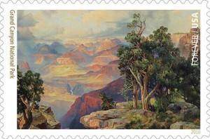Grand Canyon Postage Stamp