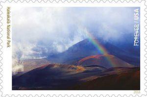 Haleakala National Park Postage Stamp