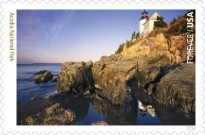 Acadia National Park Stamp