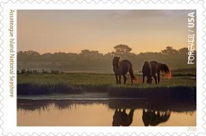Assateague Island National Seashore Stamp