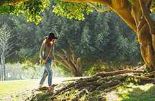 Woman at Park