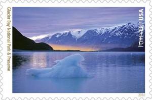 Glacier Bay Postage Stamp