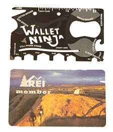 Wallet Ninja and a Card