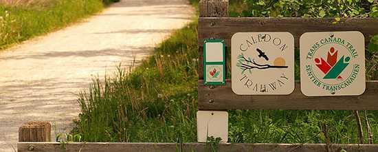 Trans Canada Trail Near Tottenham, Ontario
