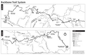 Backbone Trail Map