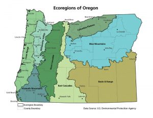 Oregon Ecoregions
