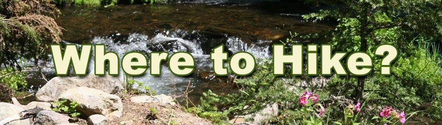Where to Hike?