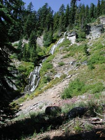Vidae Falls, Crater Lake National Park