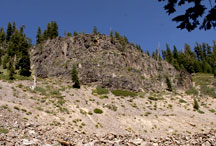 Anderson Bluffs - Crater Lake National Park
