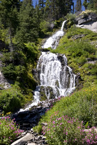 Vidae Falls - Crater Lake National Park