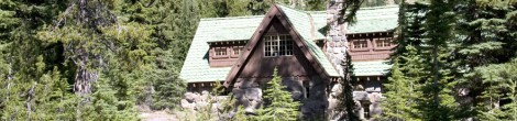 Rustic Architecture of Crater Lake