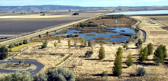 Discovery Marsh at Tule Lake National Wildlife Refuge