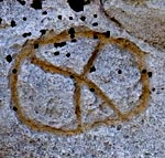 Petroglyph at Petroglyph Point Lava Beds National Monument