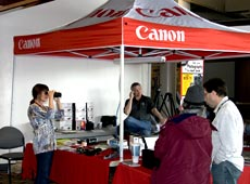 Canon - sponsor for the Winter Wings Festival