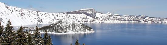 Crater Lake WInter