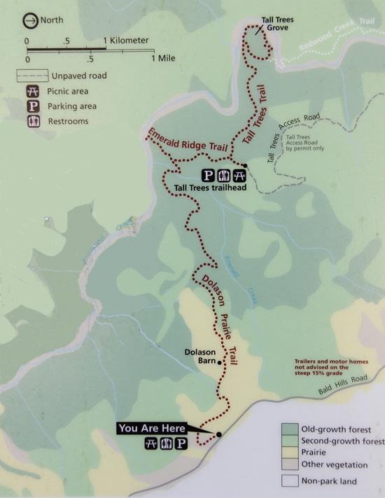 Dolason Prairie Trail Map