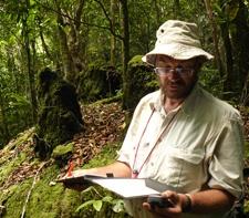 Jonathan Timberlake exploring Mt. Mabo, Mozambique