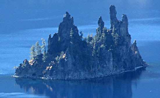Phantom Ship - Crater Lake National Park