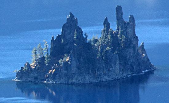 Phantom Ship - Crater Lake National Park