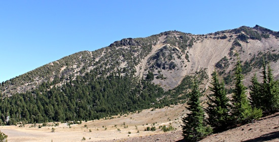 Mt Scott in Crater Lake National Park