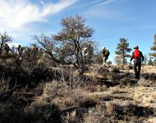 Climbing Caldwell Butte