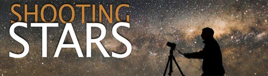 Shooting Stars Header Image