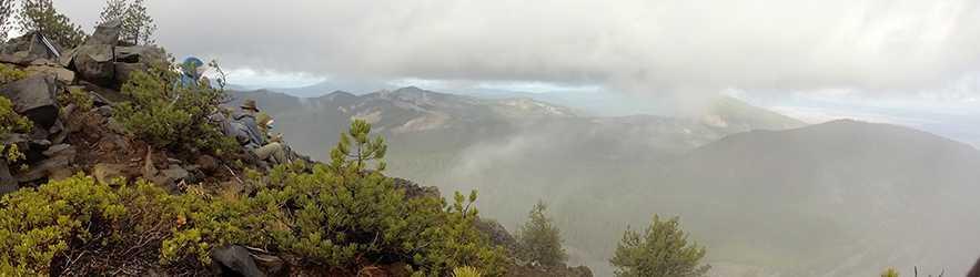 Climbing Aspen Butte