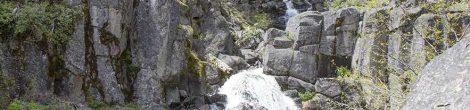 Seldom Creek Falls in the Southern Oregon Cascades