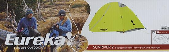 Eureka Sunriver 2 Tent Box Front Panel
