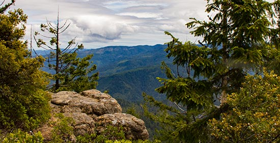 View from Panther Ridge - Wild Rogue Wilderness