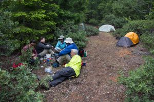 Camping on the Panther Ridge Trail