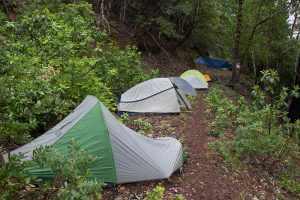 Camping on the Mule Creek Trail