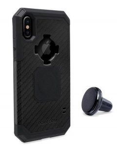 Rokform Rugged Case for iPhone X with Car Vent Mount (courtesy Rokform)