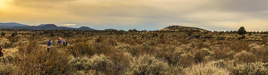Whitney Butte in the Lava Beds National Monument